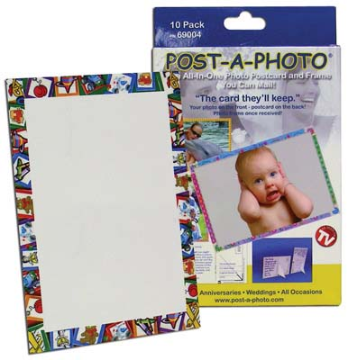View POST-A-PHOTO POST CARD FRAMES 10 PACK BOXED