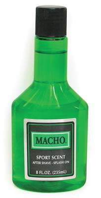View MACHO AFTER SHAVE SPLASH 8 OZ SPORT SCENT (MADE IN USA)