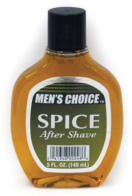 View MEN'S CHOICE AFTER SHAVE 5 OZ SPICE **MADE IN USA**