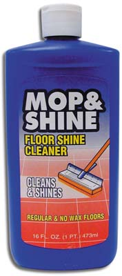 View MOP & SHINE FLOOR CLEANER 16 OZ **MADE IN USA**