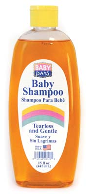 View BABY DAYS BABY SHAMPOO 15 OZ TEARLESS & GENTLE **MADE IN USA**