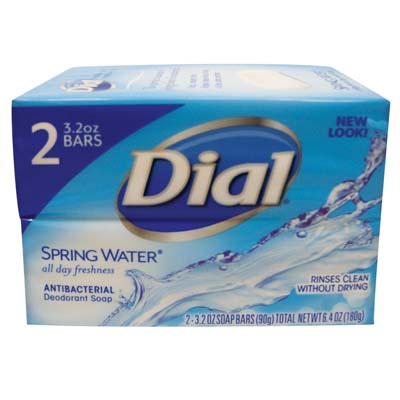 View DIAL BAR SOAP 2 PACK 3.2 OZ EACH SPRING WATER