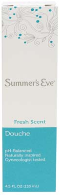 View SUMMER'S EVE DOUCHE SINGLE PACK 4.5 OZ FRESH