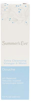 View SUMMER'S EVE DOUCHE SINGLE PACK 4.5 OZ EXTRA CLEAN