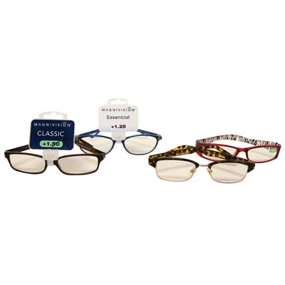 View FOSTER GRANT PREMIUM READING  GLASSES ASSORTED STYLES & POWERS +1.00 TO 1.50