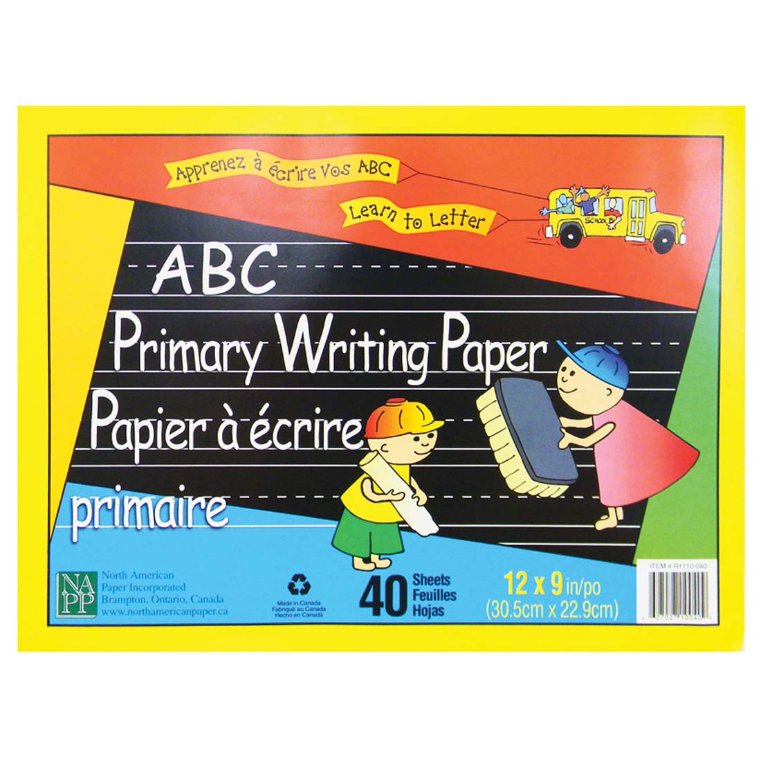 View ABC PRIMARY WRITING PADS 40 SHEETS  12  X 9 INCH