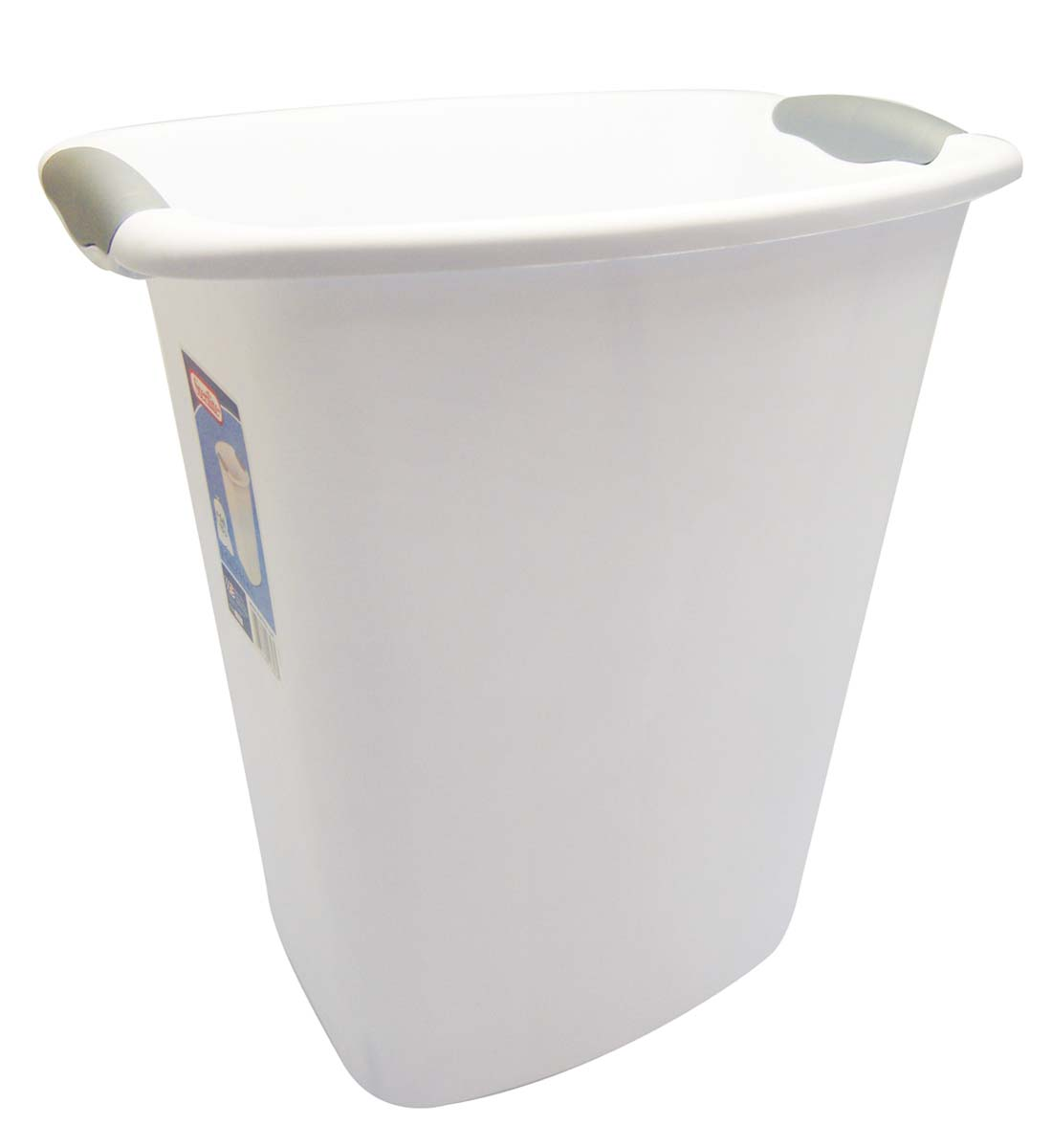 View STERLITE WASTE BASKET 3 GALLON WHITE **MADE IN USA**