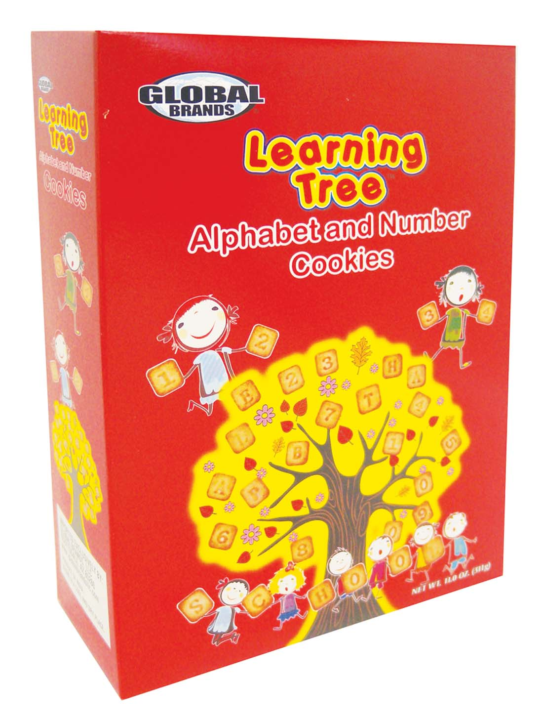 View LEARNING TREE COOKIES 11 OZ ALPHABET & NUMBERS