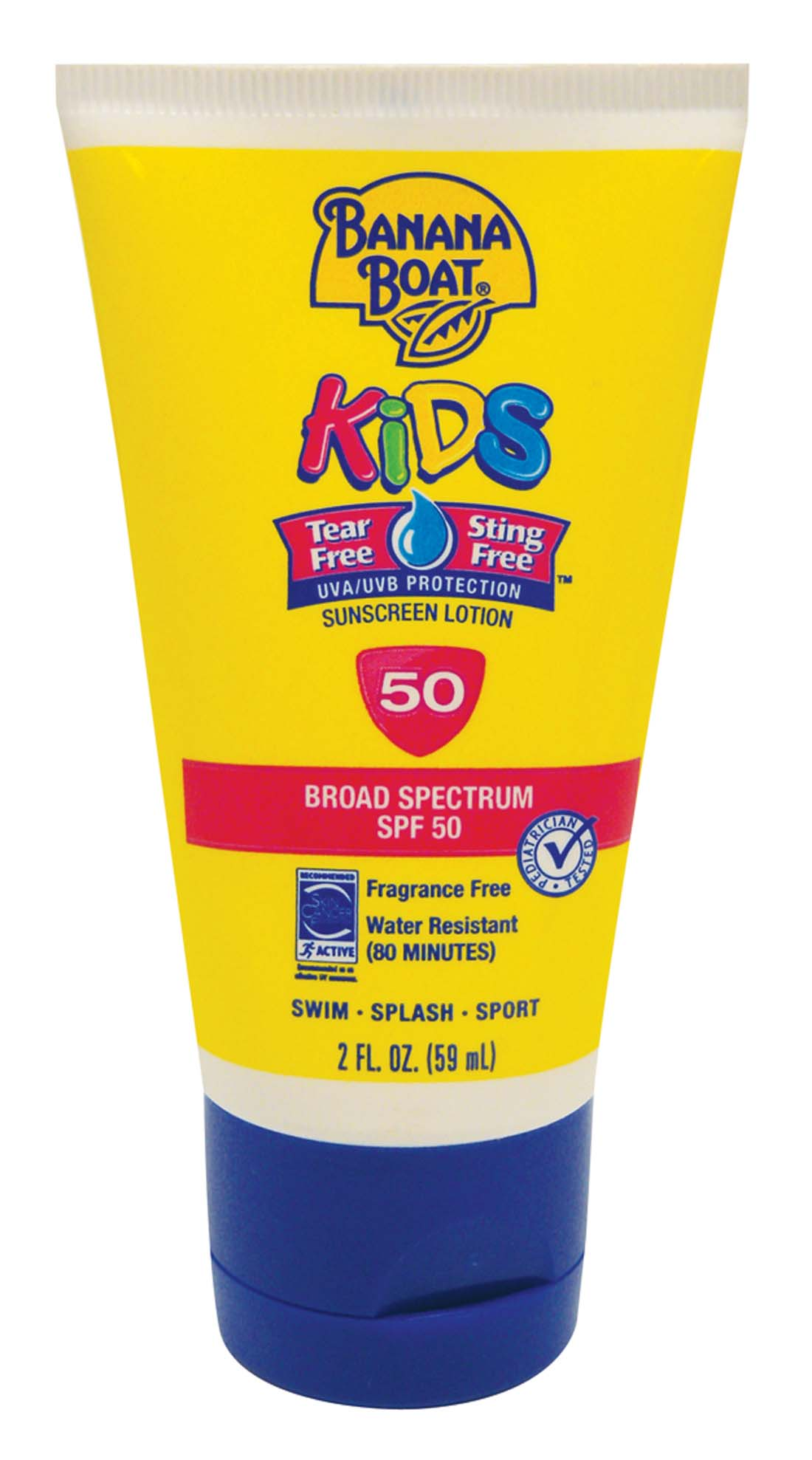 View BANANA BOAT KIDS SUNSCREEN LOTION 2 OZ SPF 50