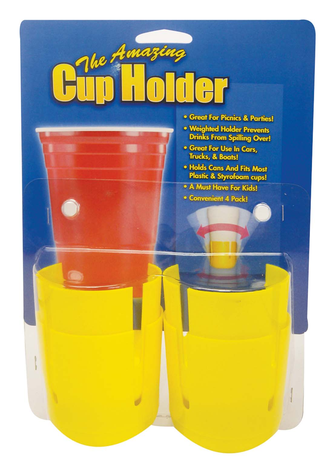 View CUP HOLDER 4 PACK WEIGHTED