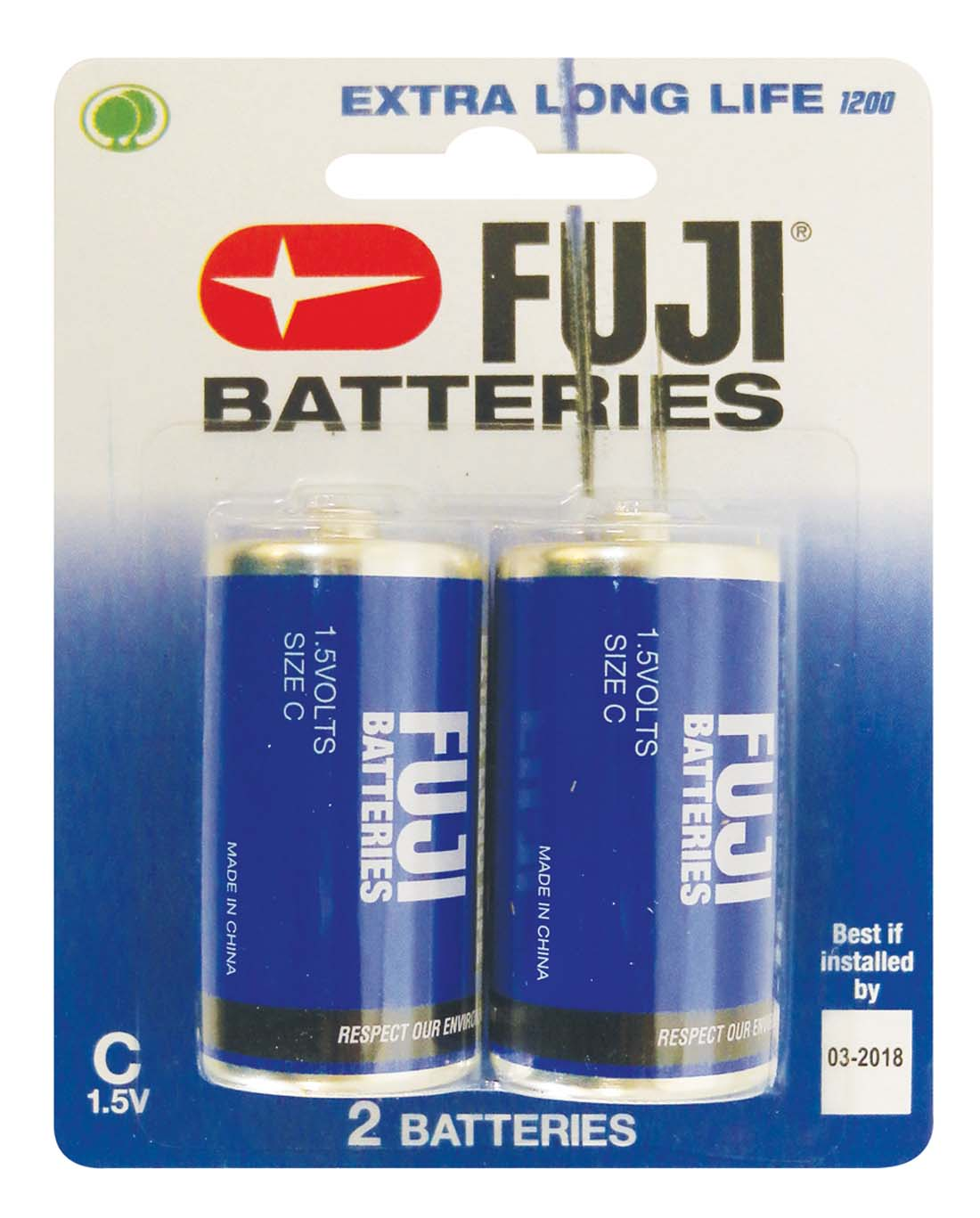 "View FUJI BATTERY ""C"" 2 PACK EXTRA LONG LIFE"