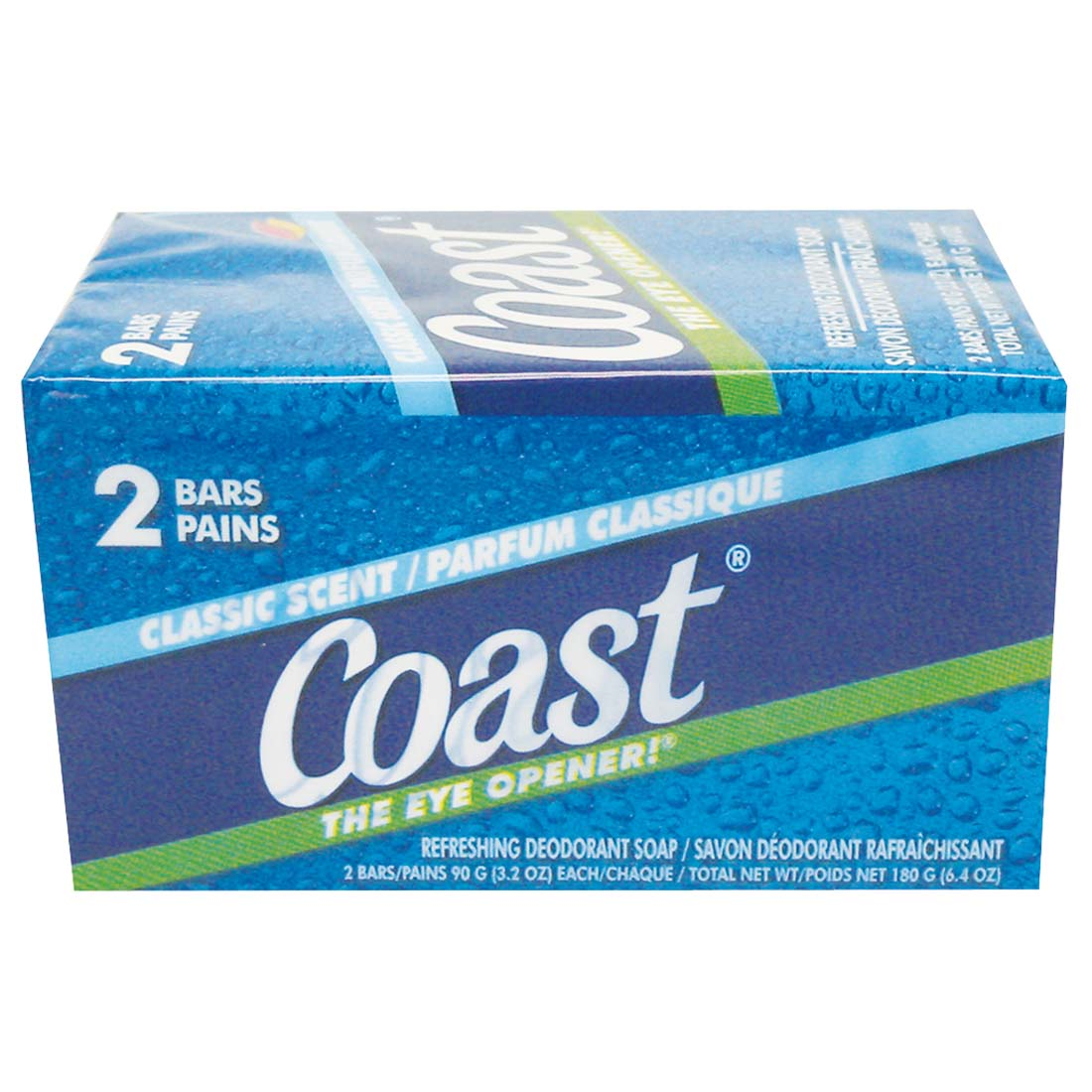 View COAST BAR SOAP 2 PK 3.2 OZ EACH CLASSIC SCENT **MADE IN USA**
