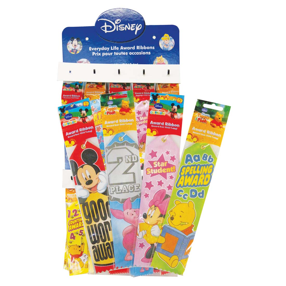 View DISNEY AWARD RIBBON 8 INCH IN DISPLAY ASSORTED STYLES