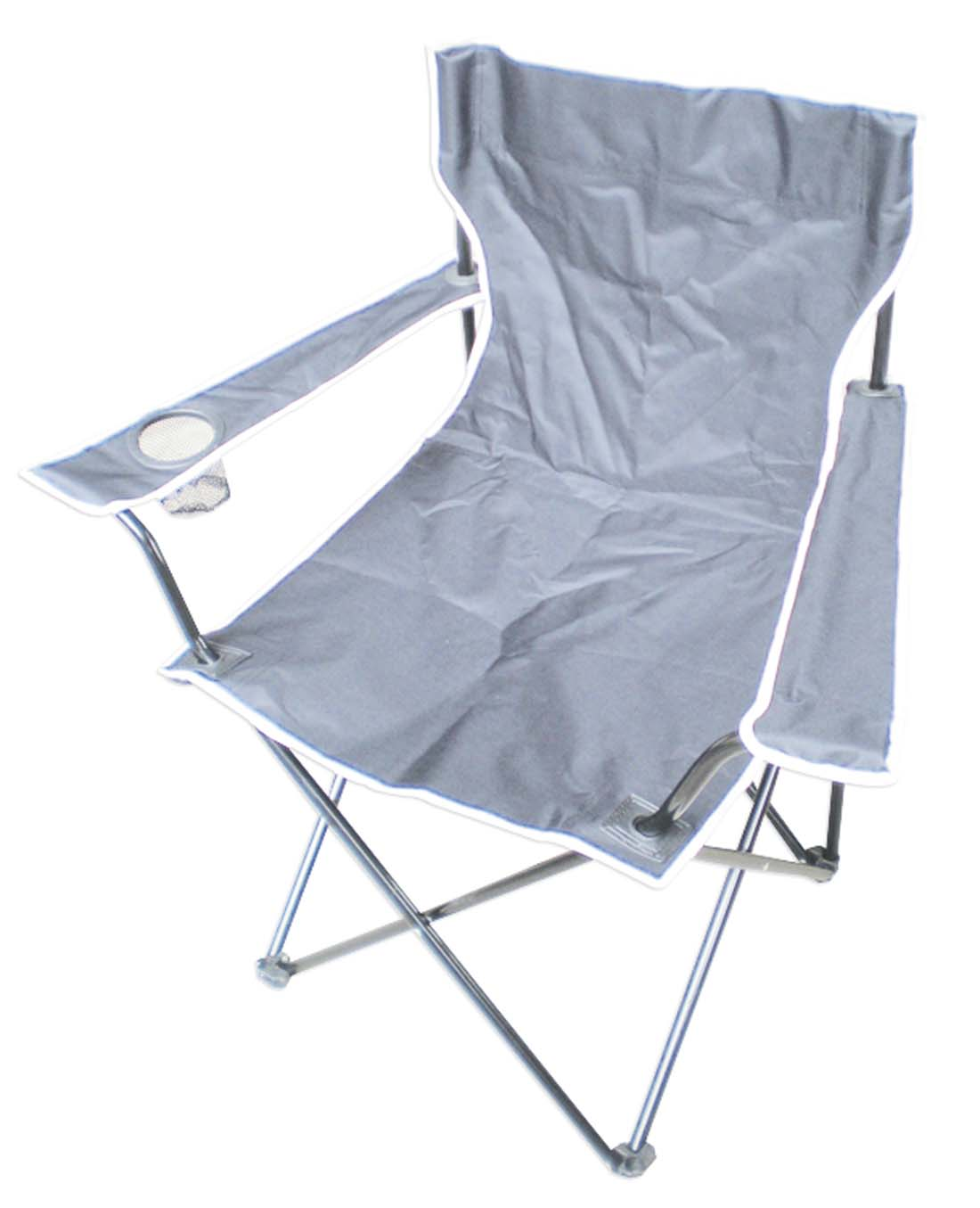 View CAMPING CHAIR 20 X 20 X 33 INCH GRAY