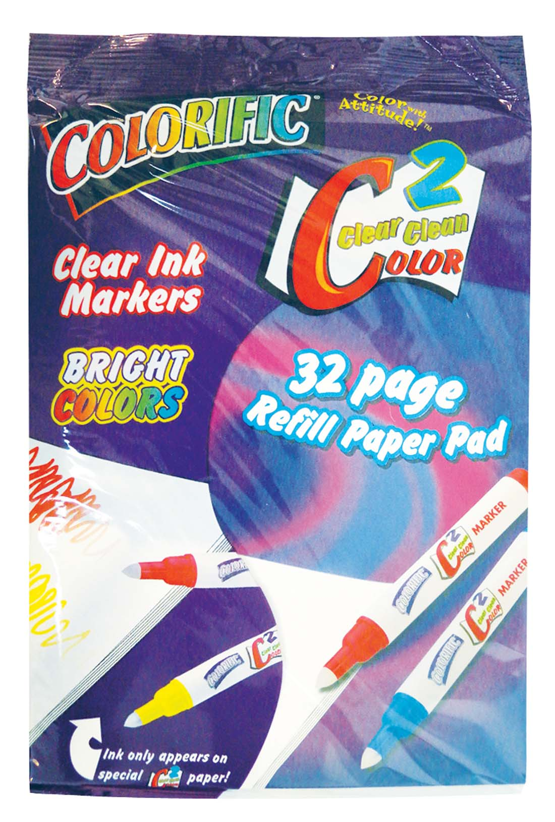 View COLORIFIC PAPER PAD REFILL 32 PAGES **MADE IN USA**