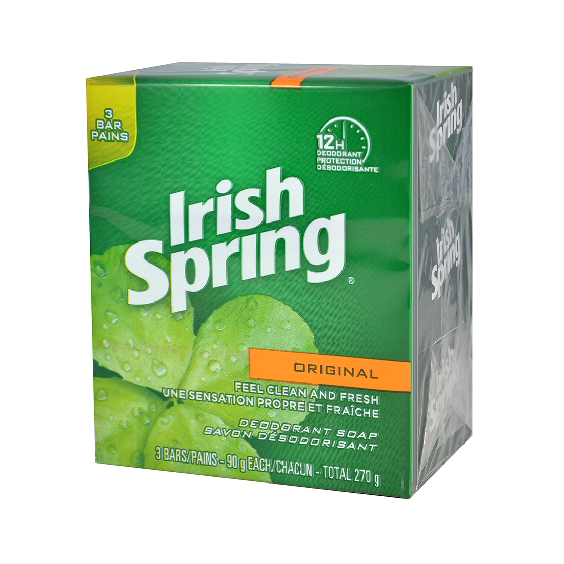 View IRISH SPRING BAR SOAP 3 PK 3.75 OZ ORIGINAL