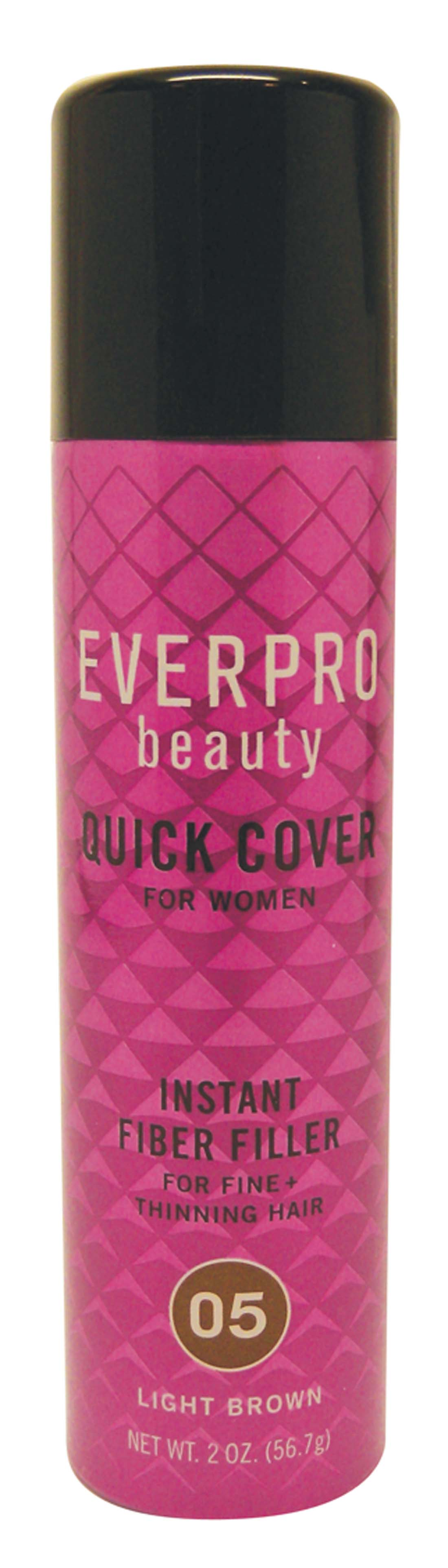 "View EVERPRO WOMENS HAIR FILLER 2 OZ INSTANT LIGHT BROWN ""TRAVEL SIZE"""