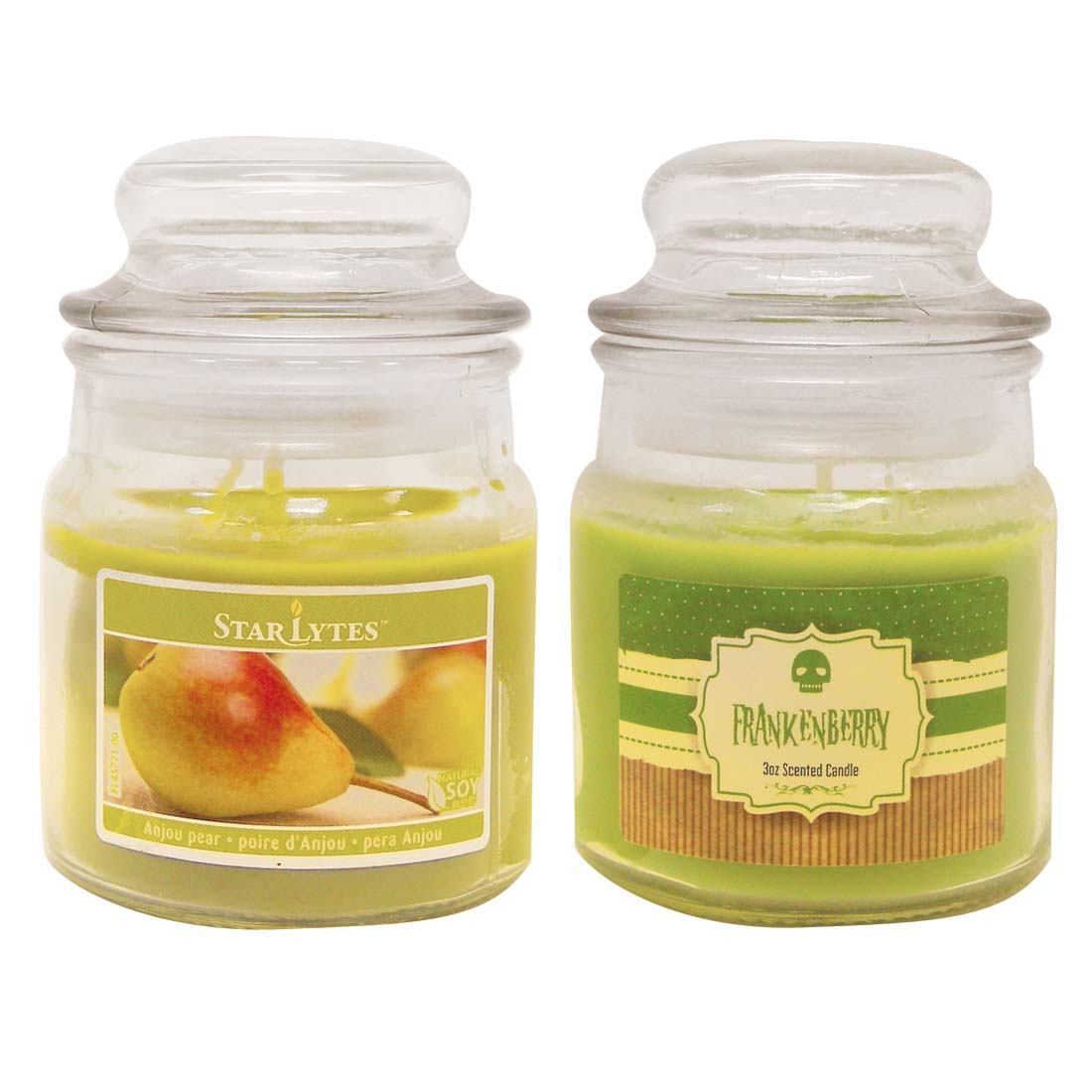 View CANDLE 3 OUNCE ASSORTED GREEN ** MADE IN USA **