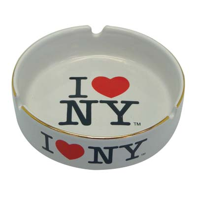 "View ASHTRAY 4 INCH ""I LOVE NY"" CERAMIC"
