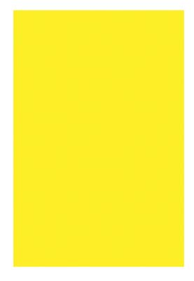 View POSTER BOARD 22 X 28 INCH FLUORESCENT YELLOW