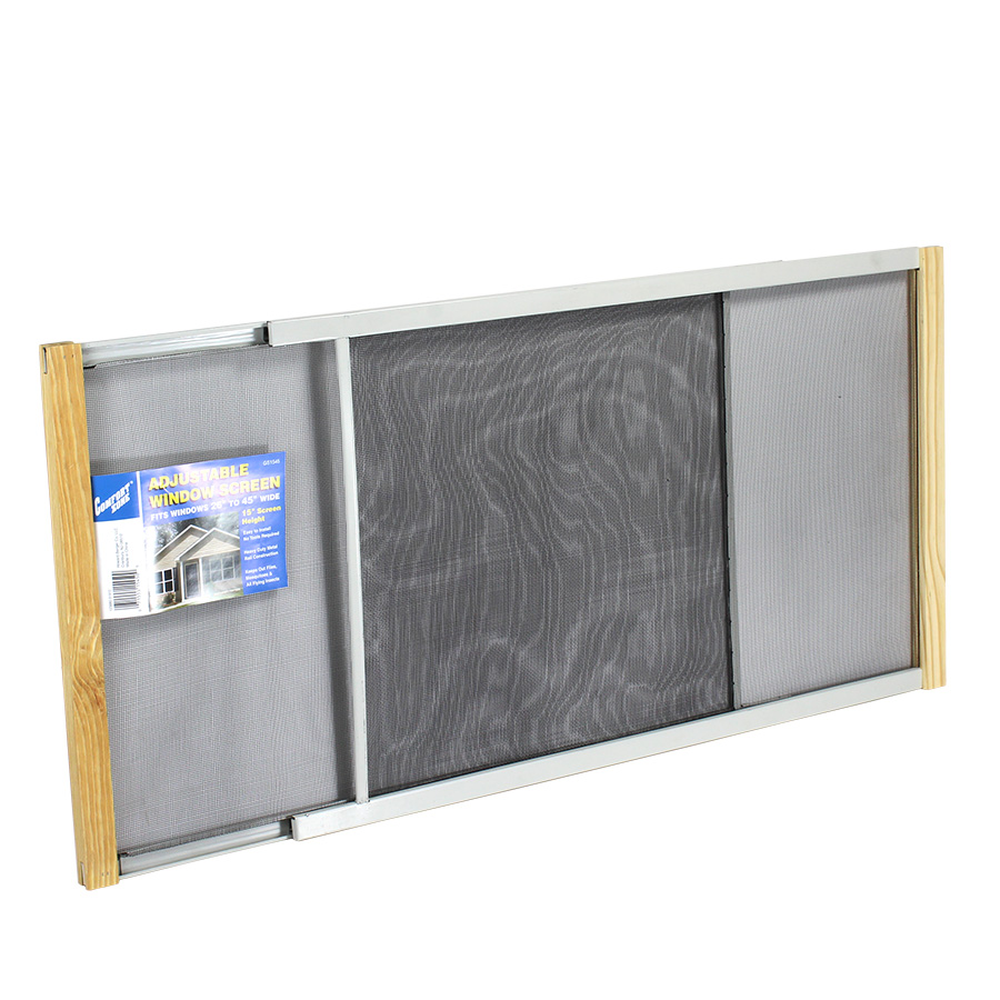 View COMFORT ZONE WINDOW SCREEN 15 INCH HIGH EXTENDABLE 26-45 INCH WIDE
