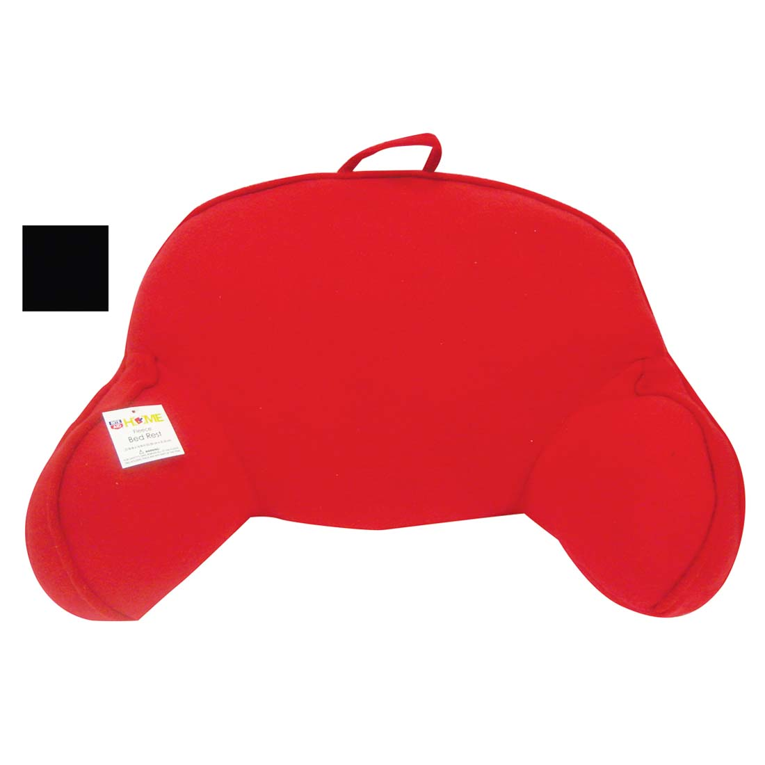 View FLEECE BED PILLOW RED/BLACK