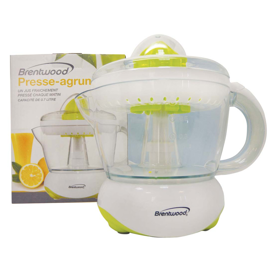 View BRENTWOOD ELECTRIC JUICER 24 OUNCES CETL LISTED