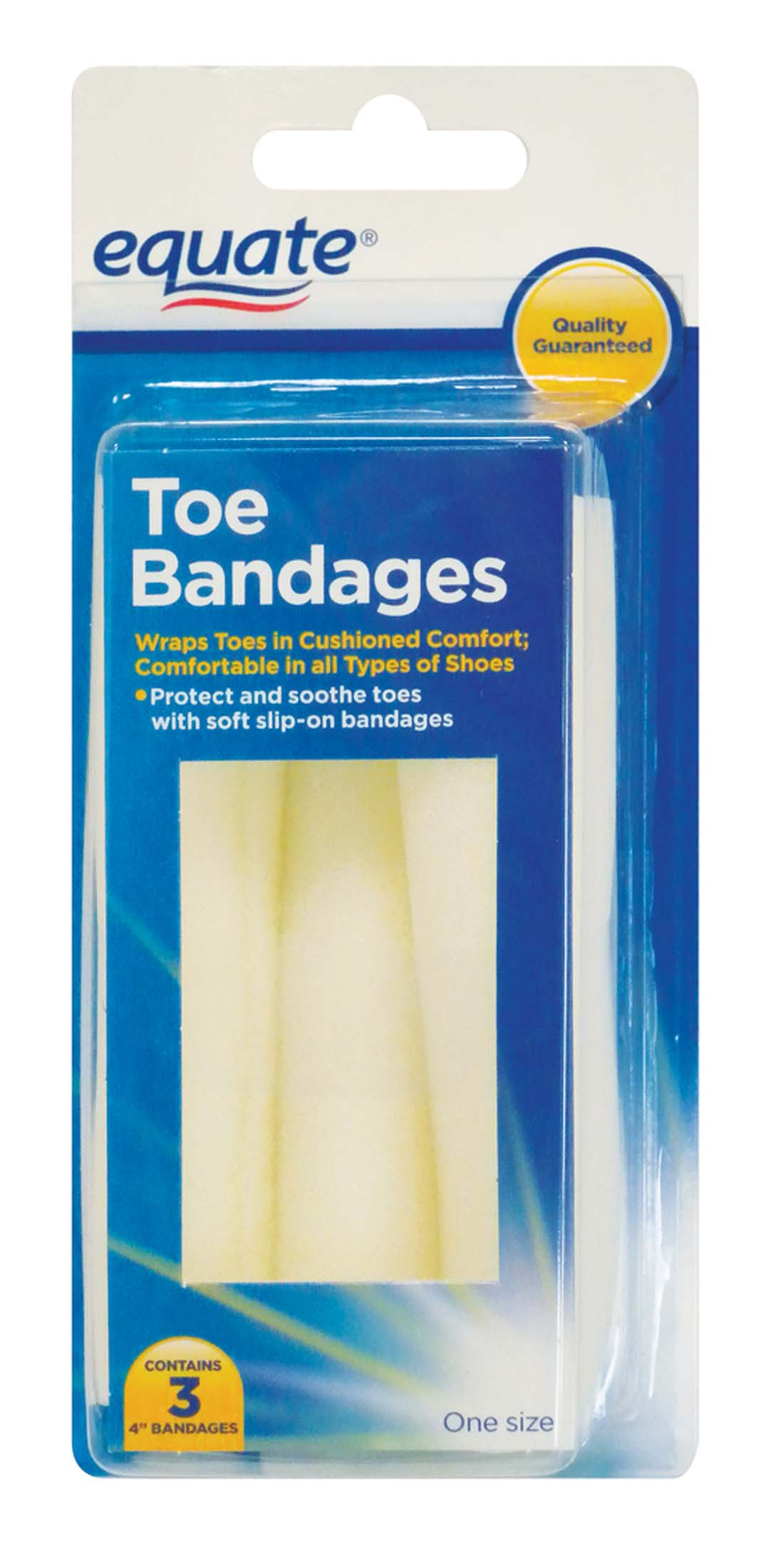View FAMOUS BRANDS TOE BANDAGE 3 PK 4 INCH