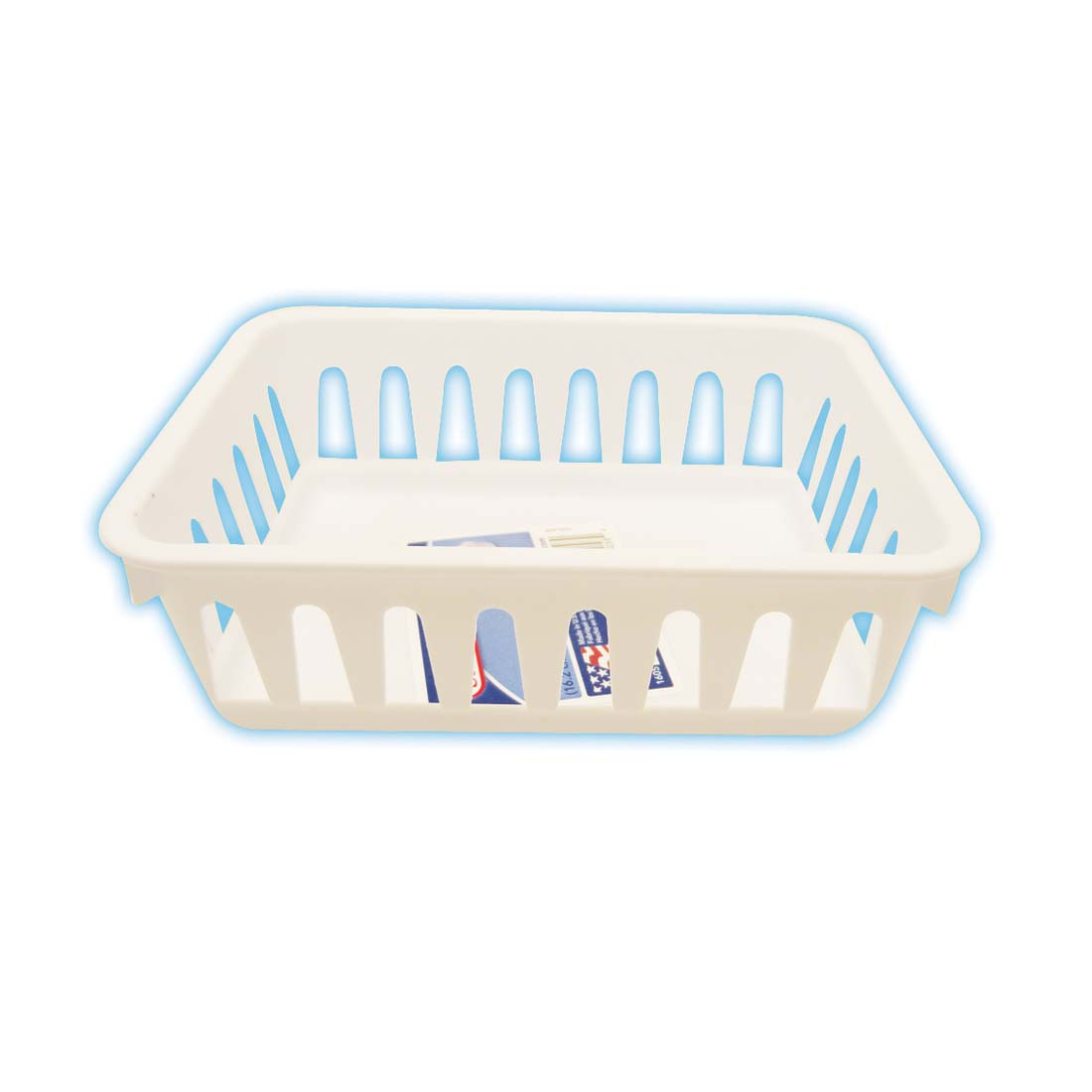 View MINI STORAGE BASKET 6 X 5 X 2 INCH *MADE IN USA*