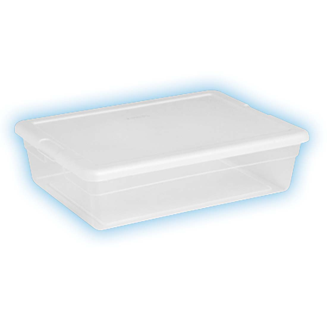 View STERILITE STORAGE BOX 23 X 16.25 X 6 INCH 28 QUART ** MADE IN USA **