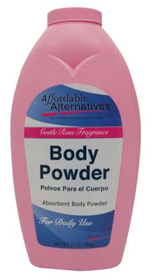 View BODY POWDER 13 OZ GENTLE ROSE SCENT