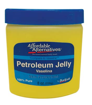 View BUDPAK PETROLEUM JELLY 8 OZ *COMPARE TO VASELINE*