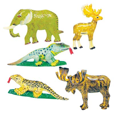 View MAGNETS 3 INCH ASSORTED ANIMAL DESIGNS