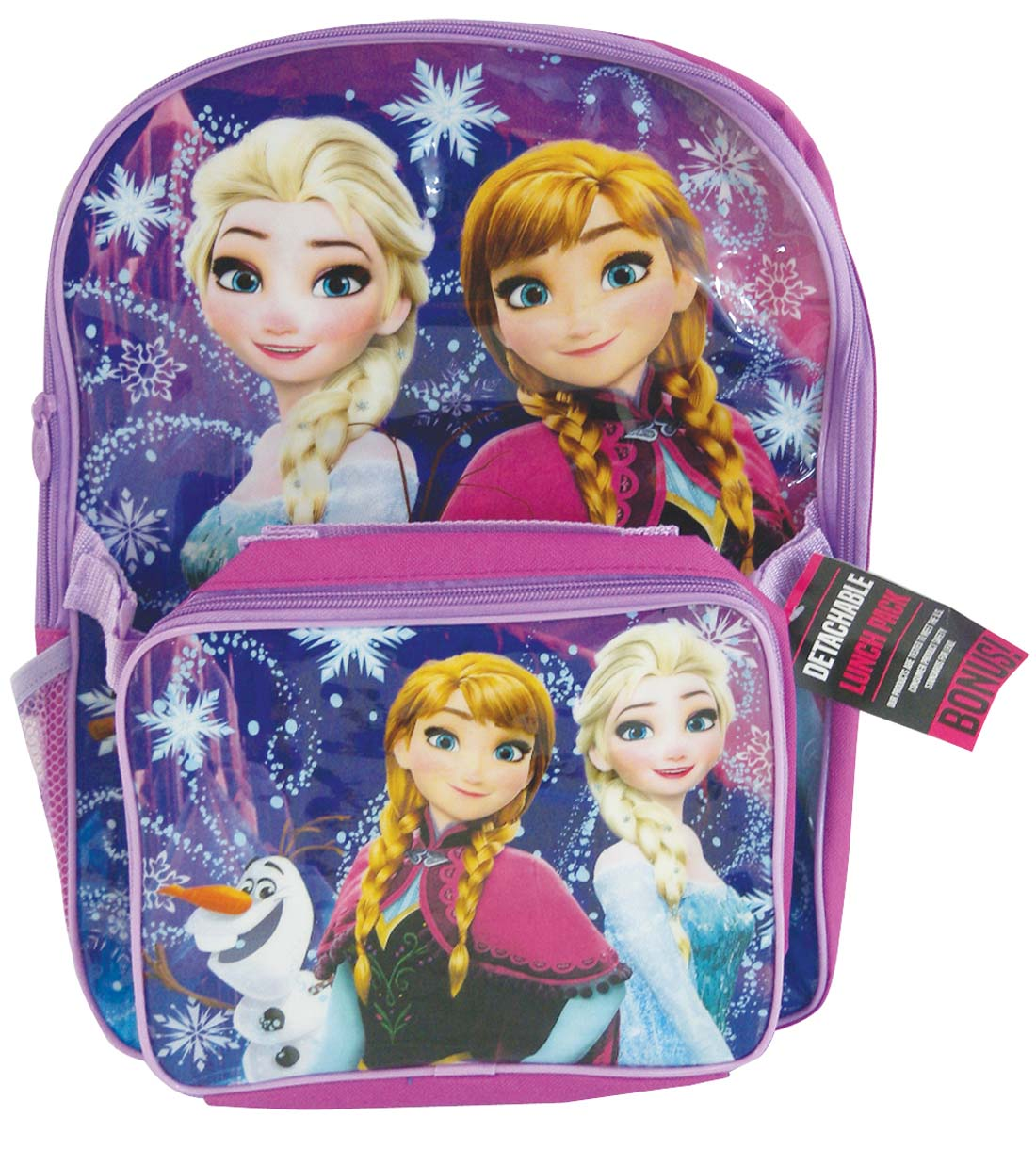 "View BACKPACK 18"" & LUNCH BAG FROZEN"