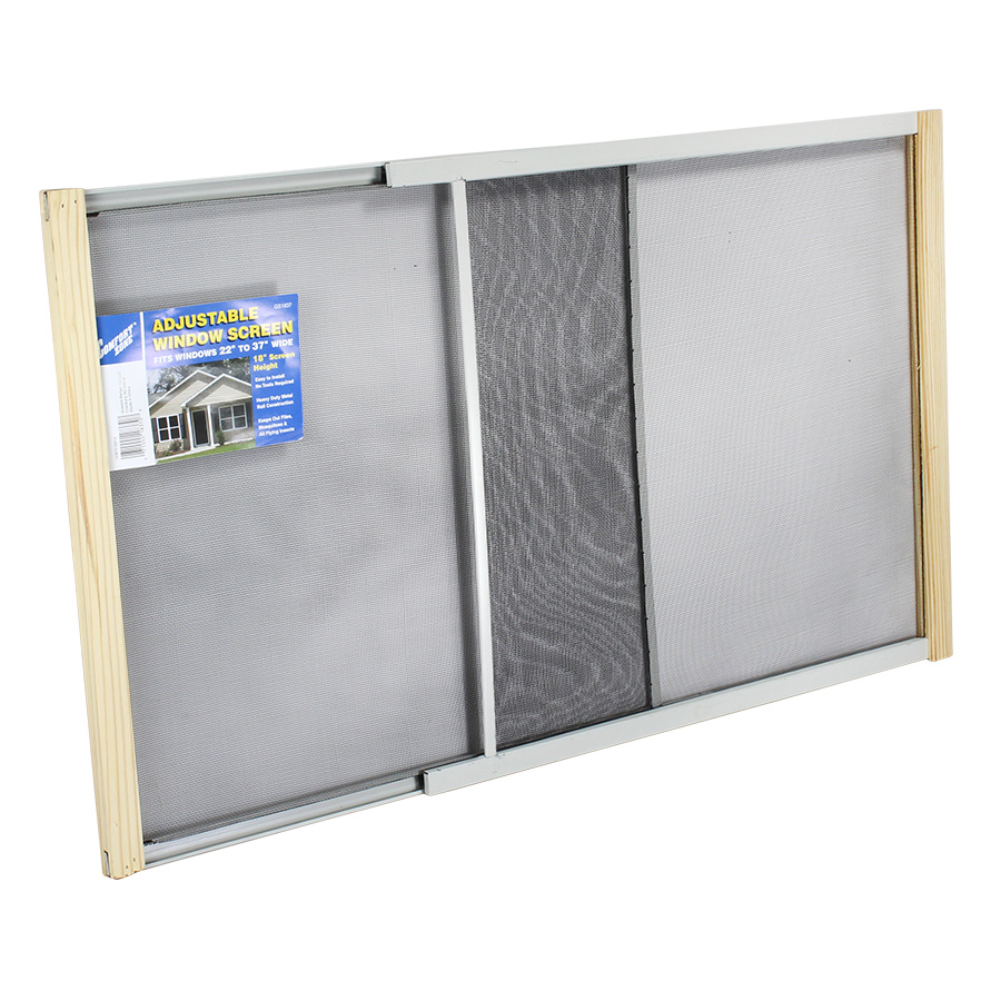 View COMFORT ZONE WINDOW SCREEN 18 INCH HIGH EXTENDABLE 22-37 INCH WIDE