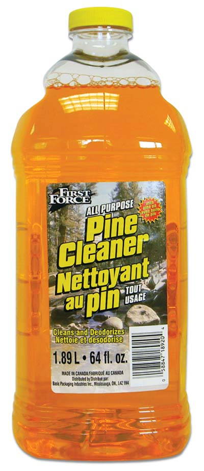 View FIRST FORCE CLEANER 64 OZ PINE REFILL
