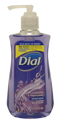 View DIAL LIQUID HAND SOAP 7.5 OZ LAVENDER & TWILIGHT JASMINE **MADE IN USA**