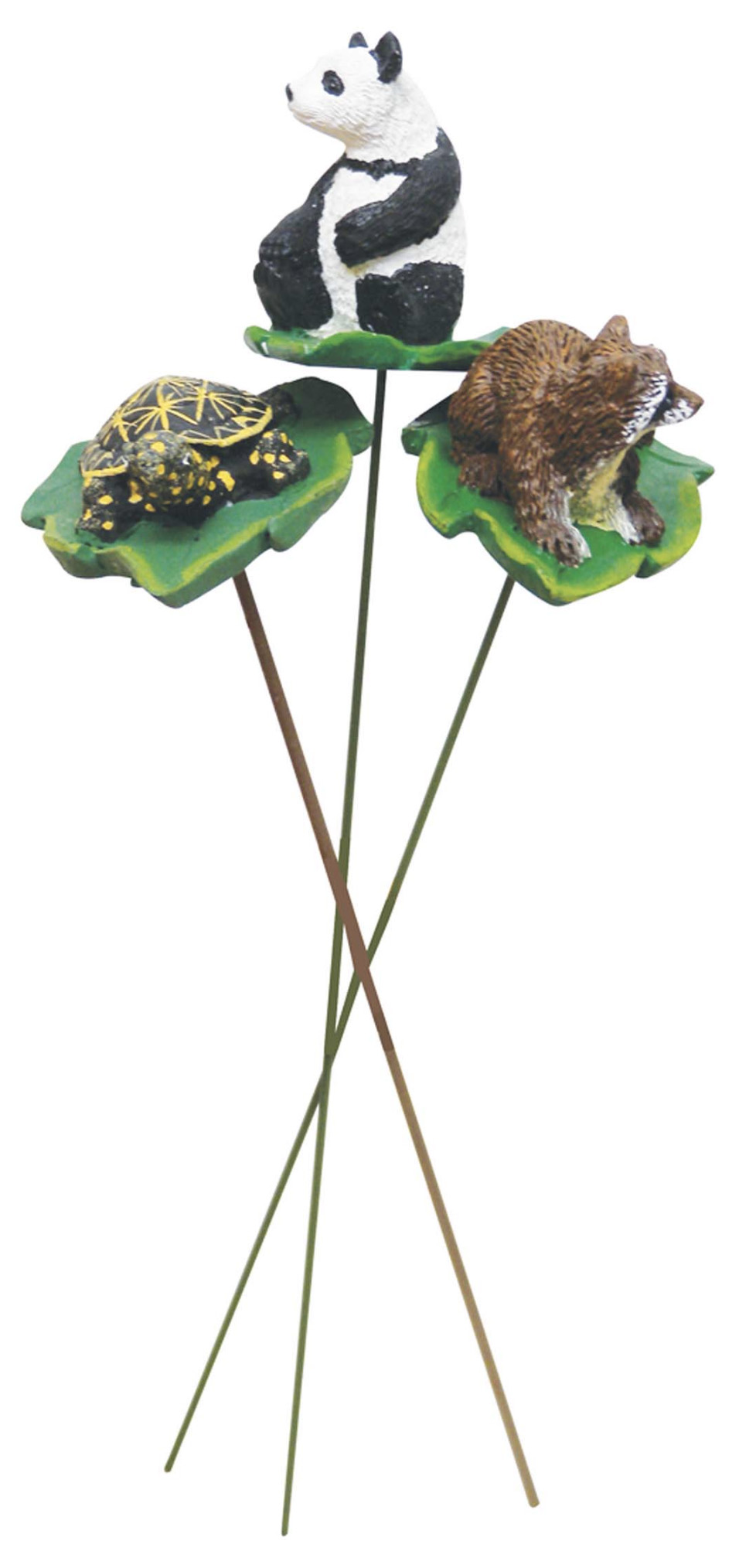 View LAND & SEA DECORATIVE PLANT STAKES 9 INCH ASSORTED ANIMAL DESIGNS