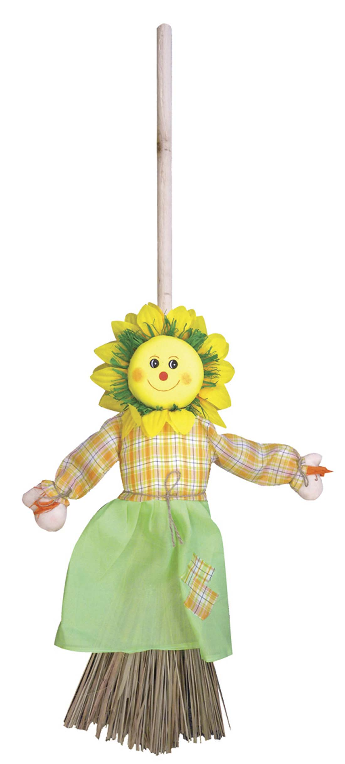 View LAND & SEA DECORATIVE BROOM 36 INCH SUNFLOWER