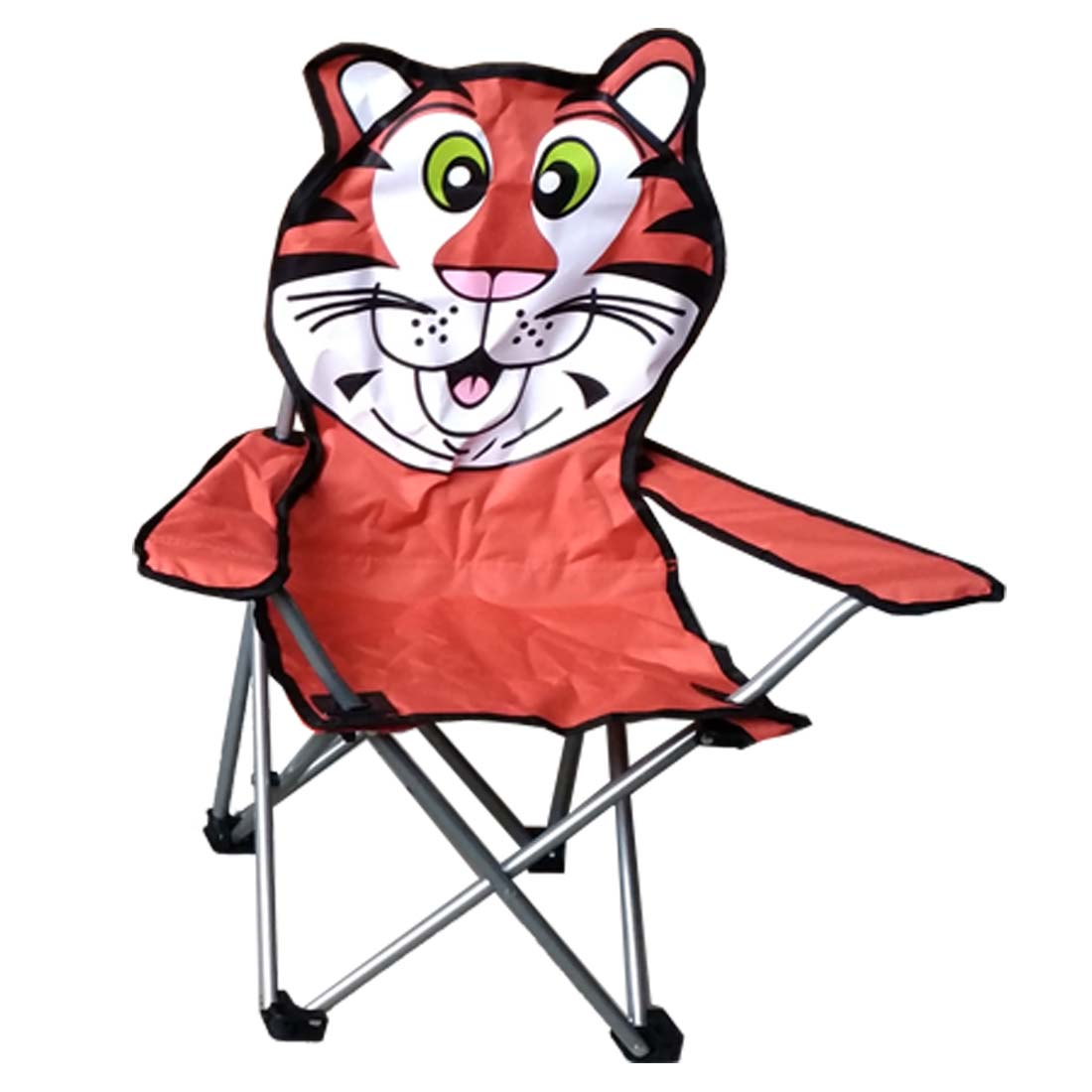 View KIDS CAMPING CHAIR 14 X 14 X 26 INCH TIGER DESIGN