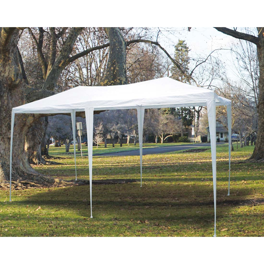View TUBE GAZEBO 12 X 24 FEET WHITE