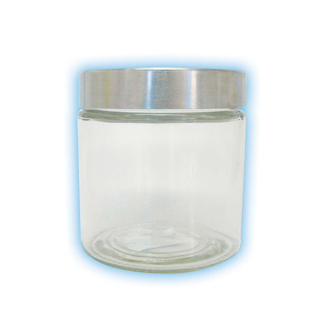 View GLASS CANISTER 30 OZ WITH METAL LID