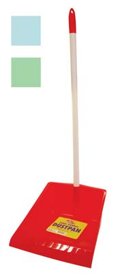 View LONG HANDLE DUSTPAN 29 INCH ASSORTED COLORS