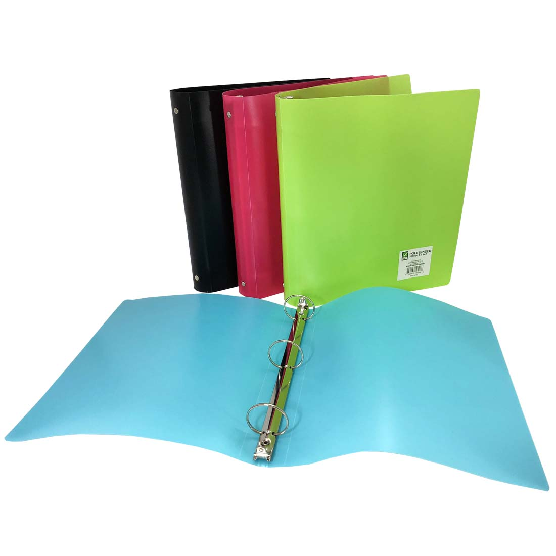 View BINDER 1.5 INCH 3 RINGS ASSORTED COLORS