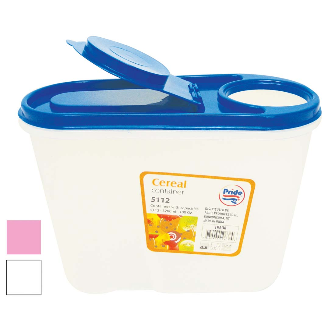 View FOOD CONTAINER 108 OUNCE WITH FLIP LID