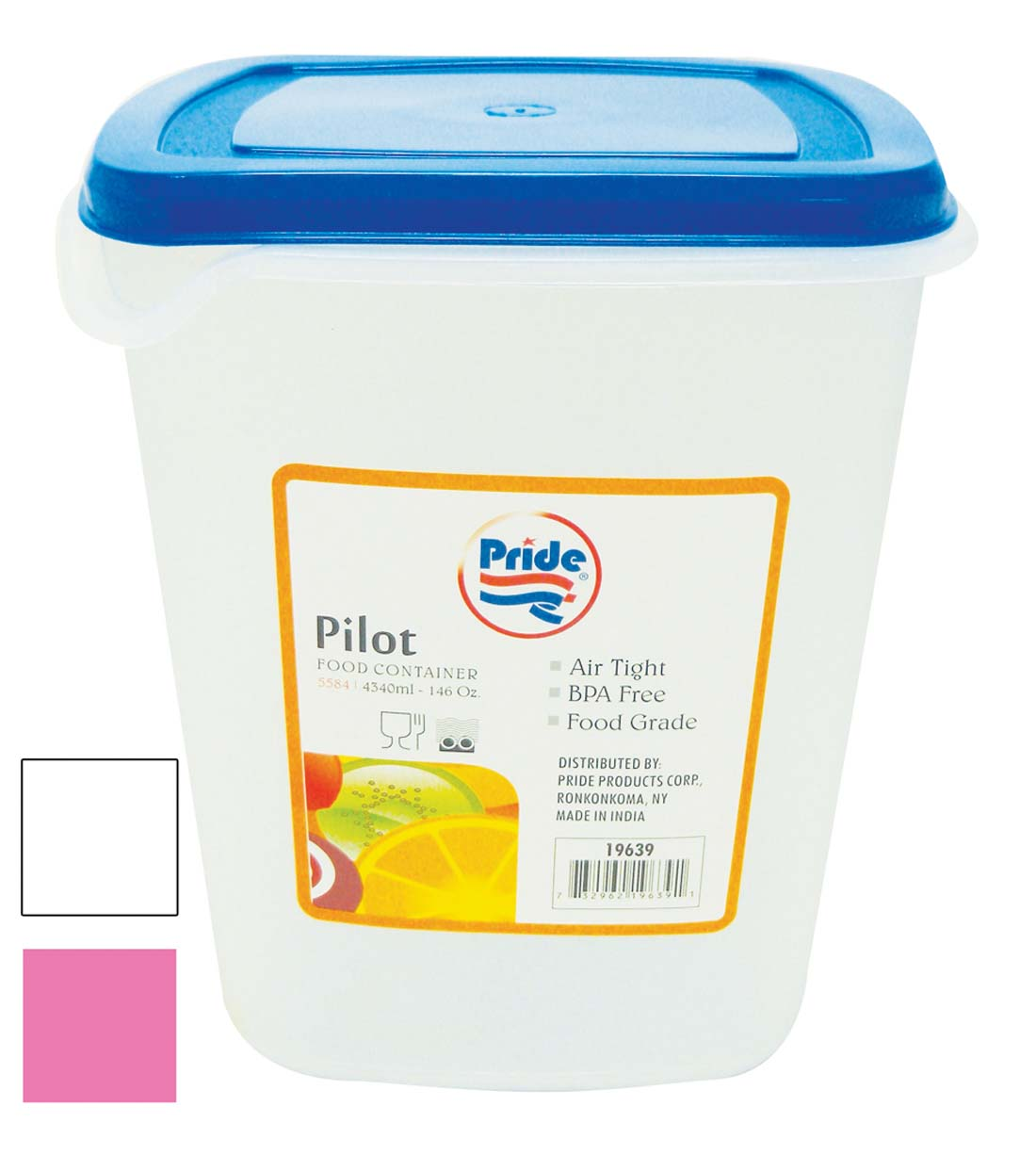 View FOOD CONTAINER 146 OUNCE