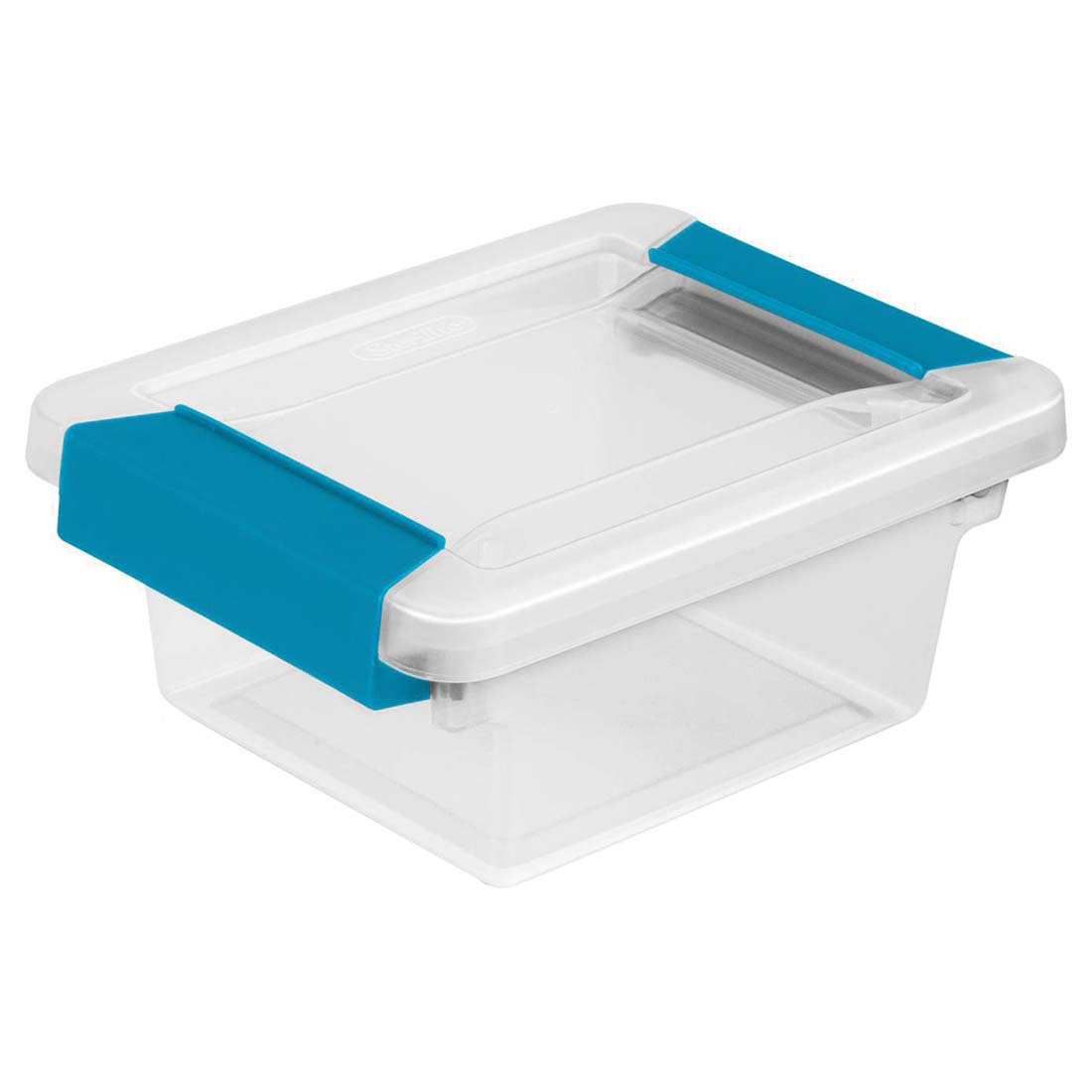 View STERILITE STORAGE BOX  6 X 5 X 2 INCHES WITH LOCKING LID **MADE IN USA**