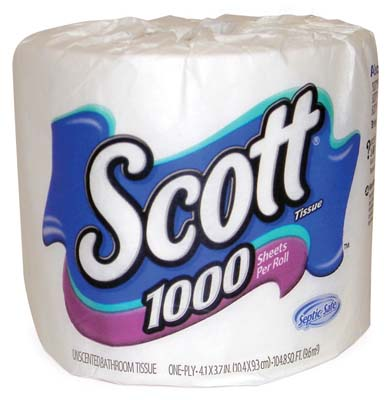 "View SCOTT BATH TISSUE 1000-1 PLY SHEETS **MADE IN USA**  ""MAX 20 CASES"""