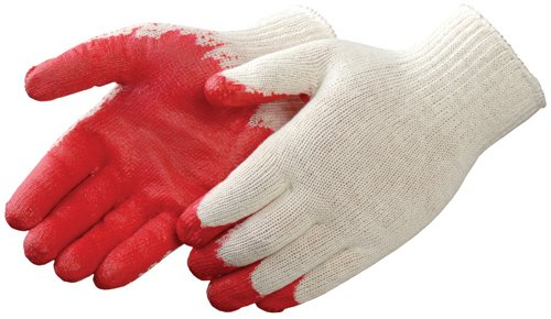View ALL PURPOSE WORKING GLOVES RED PALM