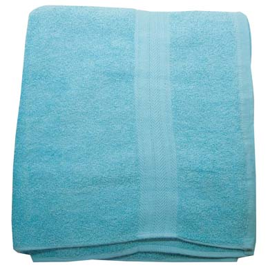 View BATH TOWEL 30 X 54 INCH COTTON COLORS MAY VARY PREPRICED $ 7.99